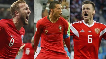 ¡Alcanzan a Cristiano! Así está la tabla de goleadores de Rusia 2018
