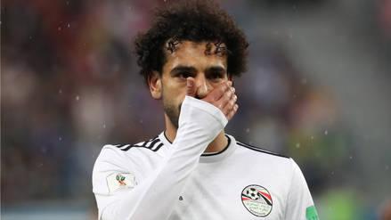 El lamento de Mohamed Salah tras la derrota ante Rusia en el Mundial
