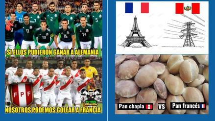 Selección Peruana en la mira de los memes previo al duelo ante Francia