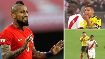 Hinchas chilenos se burlaron de la derrota de Colombia y se acordaron de Perú