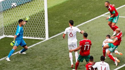 El cabezazo de Cristiano Ronaldo y los récords que rompió en lo que va de Rusia 2018