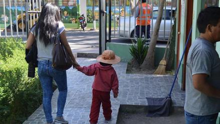 Padre es detenido por golpear a su hijo de 3 años en Arequipa