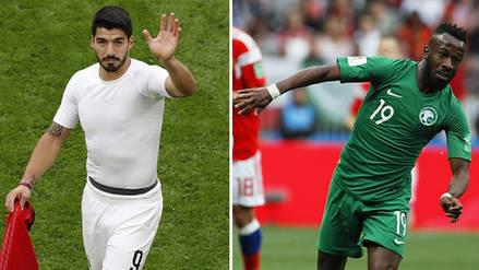 Uruguay ganó a Arabia Saudí 1-0: Grupo A del Mundial Rusia 2018