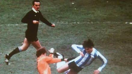 Murió el árbitro Sergio Gonella, que pitó la final de Argentina 78