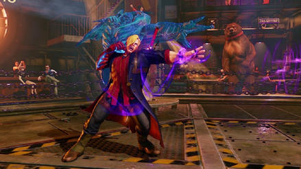 Street Fighter V recibirá atuendos de Devil May Cry y Megaman