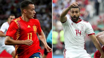 Último minuto | España vence a Irán EN DIRECTO: por el Grupo B del Mundial Rusia 2018
