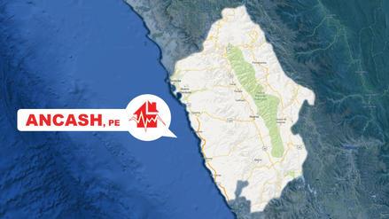 Dos sismos de 4.8 y 4.1 se registraron esta tarde en Áncash
