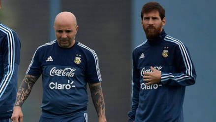 Jorge Sampaoli sobre Messi: