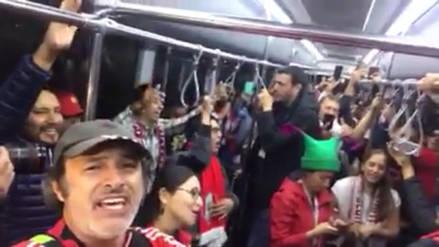 Carlos Alcántara y un grupo de peruanos viajaron a Ekaterimburgo a ritmo de