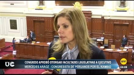 Aráoz afirma que Villanueva y miembros de su gabinete coordinan