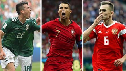 El once ideal de la primera fecha del Mundial Rusia 2018