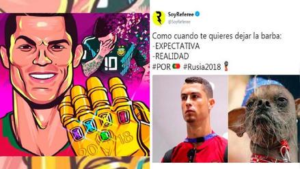Cristiano Ronaldo protagonizó los memes tras el triunfo de Portugal