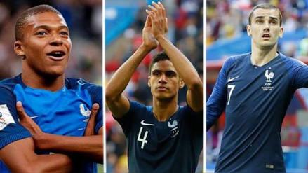Los datos curiosos de las 5 estrellas de Francia previo al duelo ante Perú