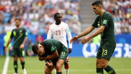 El delantero de Australia que se perderá el duelo ante Perú por lesión