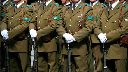 Ejército chileno da de baja a ocho reclutas por agresión a compañero