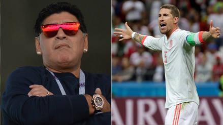 """Sergio Ramos: Messi es """"el mejor argentino de la historia"""" y Maradona está """"a años luz"""" de él"""