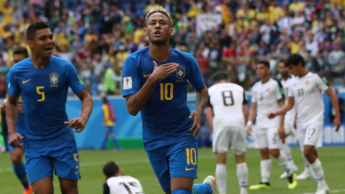 Brasil vs. Costa Rica EN VIVO: horario, fecha y canal del partido por el Grupo E