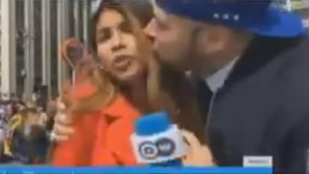 Una reportera colombiana fue víctima de acoso sexual mientras informaba sobre el Mundial