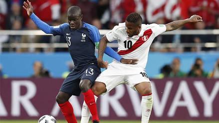 Jefferson Farfán tras derrota con Francia: