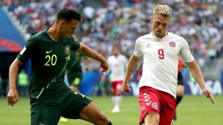 EN VIVO | Dinamarca 1-1 Australia: partido por el grupo de Perú en Rusia 2018 ONLINE