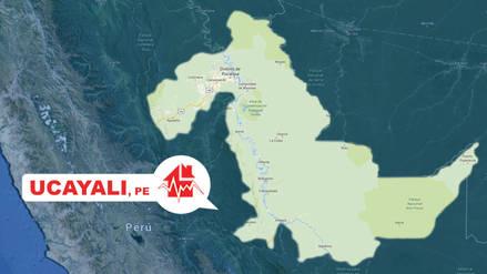 Un sismo de magnitud 4.2 se registró en Ucayali