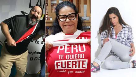 Perú vs. Francia: Las palabras de aliento de los famosos para la selección