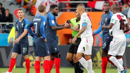 Perú vs. Francia: Los 3 duelos que deja el partido en Rusia 2018
