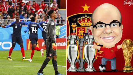 Mister Chip lamentó la eliminación de la Selección Peruana del Mundial
