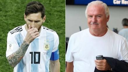 Niembro pidió a Messi que renuncie a la Selección de Argentina