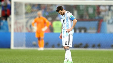 Argentina cayó goleada 3-0 ante Croacia y quedó con un pie afuera de Rusia 2018