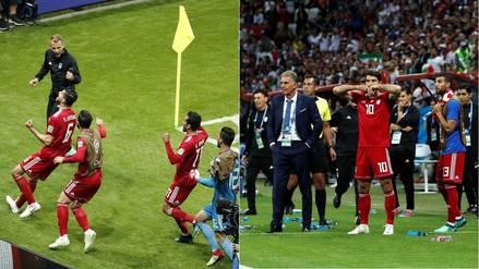 Miembro del cuerpo técnico de Irán fue llevado al hospital tras el gol anulado ante España