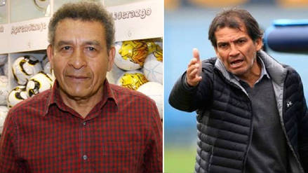 Franco Navarro y Héctor Chumpitaz calentaron la previa del Perú vs. Francia