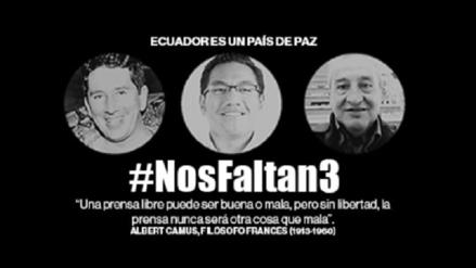 Encuentran cuerpos de periodistas ecuatorianos asesinados, según prensa colombiana