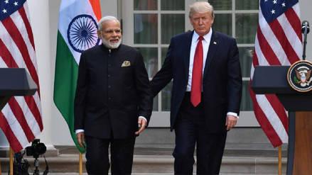 La India entra a la guerra comercial e impone nuevos aranceles a productos de EE.UU.