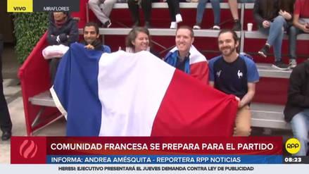 Los franceses en Lima viven así la previa del partido contra Perú