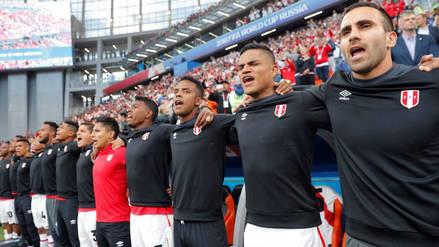 Así se entonó el himno peruano en el Ekaterimburgo Arena antes del Perú vs. Francia