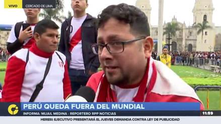 Hinchas respaldan a la Selección pese a la eliminación del Mundial