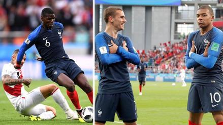 Mbappé aprovechó error en salida y anotó el primero ante Perú
