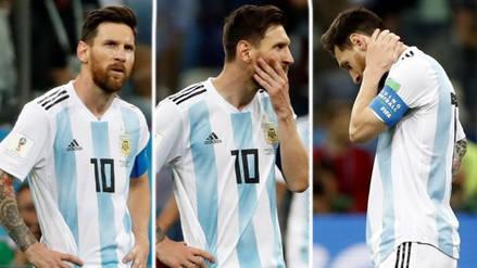 El lamento de Lionel Messi tras la derrota de Argentina
