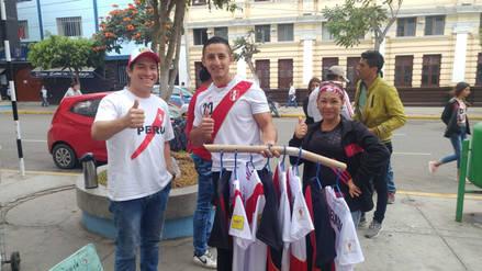 Venezolanos envían sus buenas vibras al seleccionado peruano