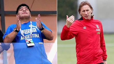 La tristeza de Maradona por Gareca y la eliminación de Selección Peruana
