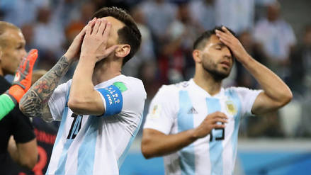 El amargo jueves de Argentina que acabó en derrota e inició una crisis