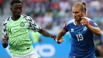 EN VIVO   Nigeria vs. Islandia: duelo por el grupo de Argentina en Rusia 2018 ONLINE
