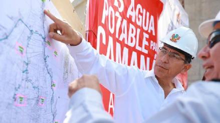 Presidente Vizcarra: la prioridad es el agua potable, la salud y educación