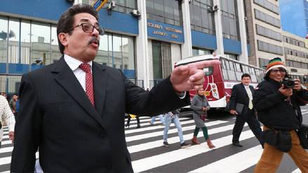 Cornejo apelará decisión del JEE que declara improcedente su inscripción para las elecciones en Lima