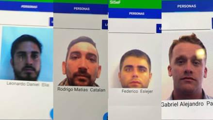 Argentina identifica a hinchas albicelestes que golpearon a croatas en Rusia