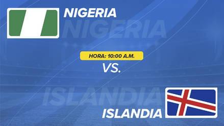 Nigeria vs Islandia EN VIVO EN DIRECTO ONLINE: Canales, goles y minuto a minuto