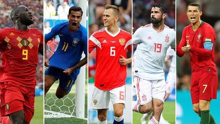 Así va la tabla de goleadores de Rusia 2018