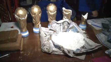 Narcos aprovechan fiebre mundialista y envían droga en camisetas y 'Copas del Mundo'