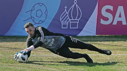 Franco Armani será titular ante Nigeria señala prensa argentina